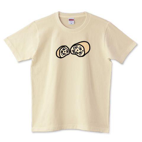 そこには何かいるモン!? in レンコンIllustrated by ショウタロー #Tシャツ #tshirts #イラスト #デザイン #レンコン #lotus