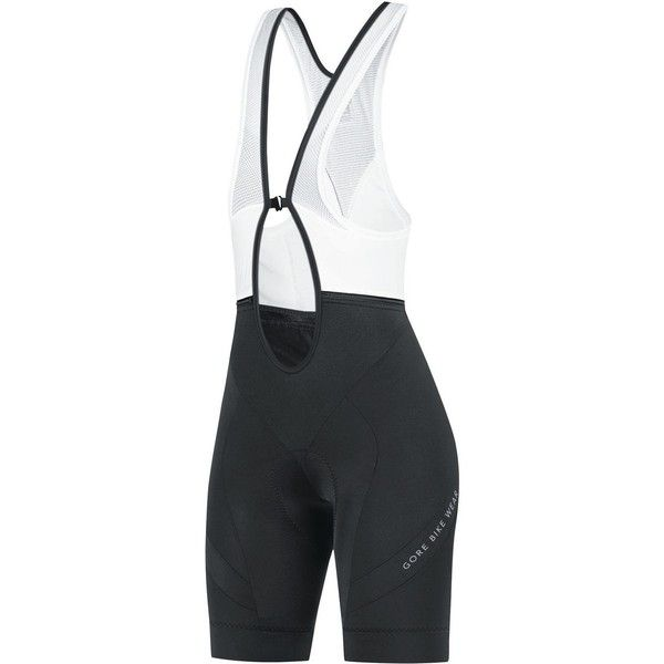 Gore Bike Wear Power Lady Bib Tights Short+ ($78) ❤ liked on Polyvore featuring activewear, activewear shorts and gore bike wear