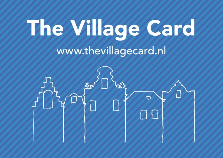 The Amsterdam Mamas - The Village Card Postcard (Front)