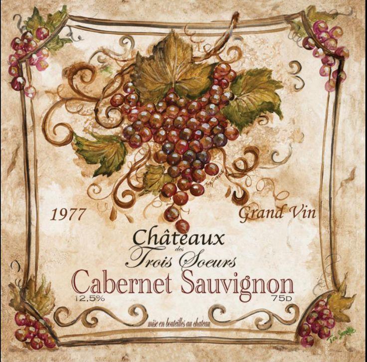 vintage wine bottle labels pictures