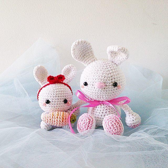 Amigurumi Bunny Keychain : 1000+ images about Amigurumi on Pinterest Miniatures ...