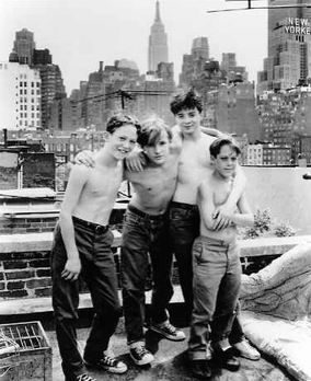 boys will be boys. the young cast of sleepers (1996)