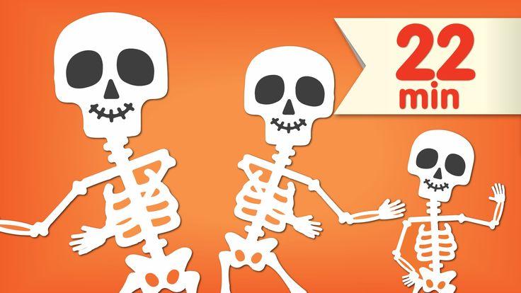 The Skeleton Dance + More | Dance Songs for Kids | Super Simple Songs