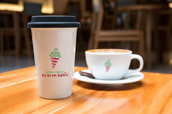 Es Krim Baltic | Desain Logo & Corporate Branding on Behance