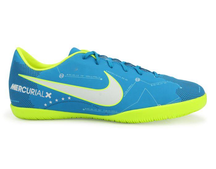 Nike Kids MercurialX Victory Neymar Jr Indoor Shoes FG Blue Orbit/White