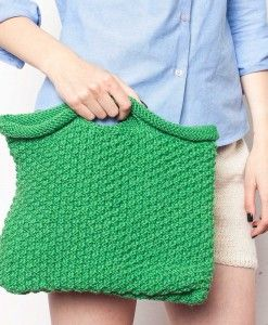 Knitted hand bag - MADE IN ROȘIA MONTANĂ