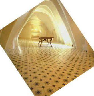 Tegelvloer | Casa Batillo in Barcelona Spain | via designtegels.nl