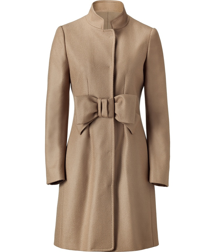 I will wear just about anything with a bow.  And in camel? LOVE!