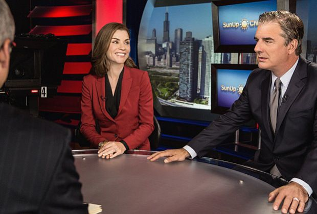 Good Wife Season 7 First Look: Alicia and Peter Hit the Campaign Trail - http://www.hollywoodfame.com/good-wife-season-7-first-look-alicia-and-peter-hit-the-campaign-trail.html