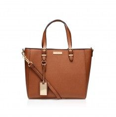 dina winged tote tan tote bag from Carvela Kurt Geiger
