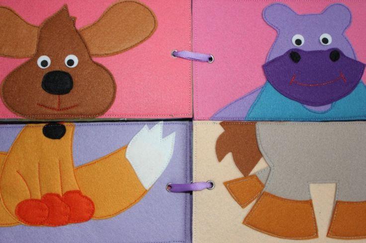book puzzle; really cute idea for a small book!