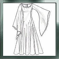 Robe de princesse médiévale (tuto très simple)