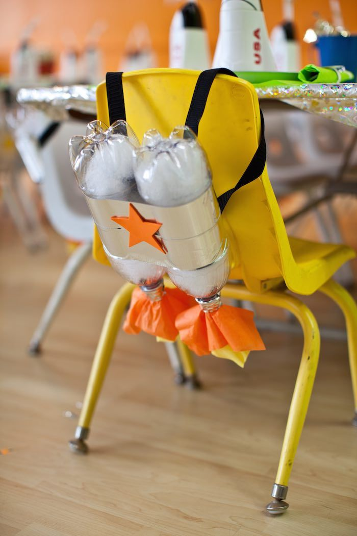 Rocket Ship Birthday Party via Kara's Party Ideas | KarasPartyIdeas.com (30)                                                                                                                                                                                 Mehr