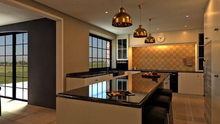 Inrichting landelijk strak google zoeken kitchens for Inrichting landelijk modern