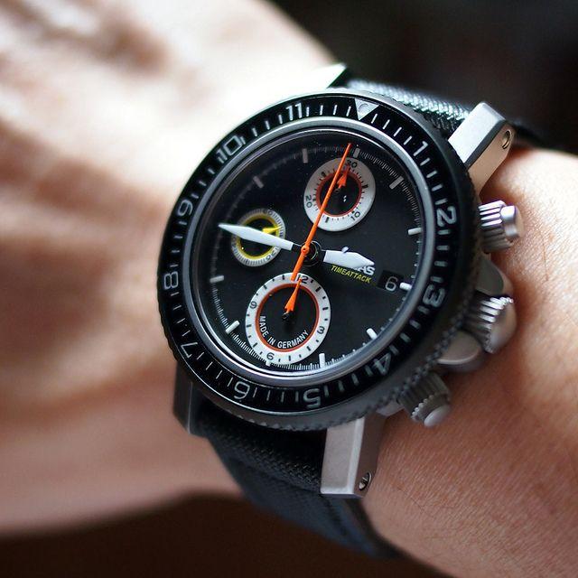 Dievas TimeAttack Chronograph