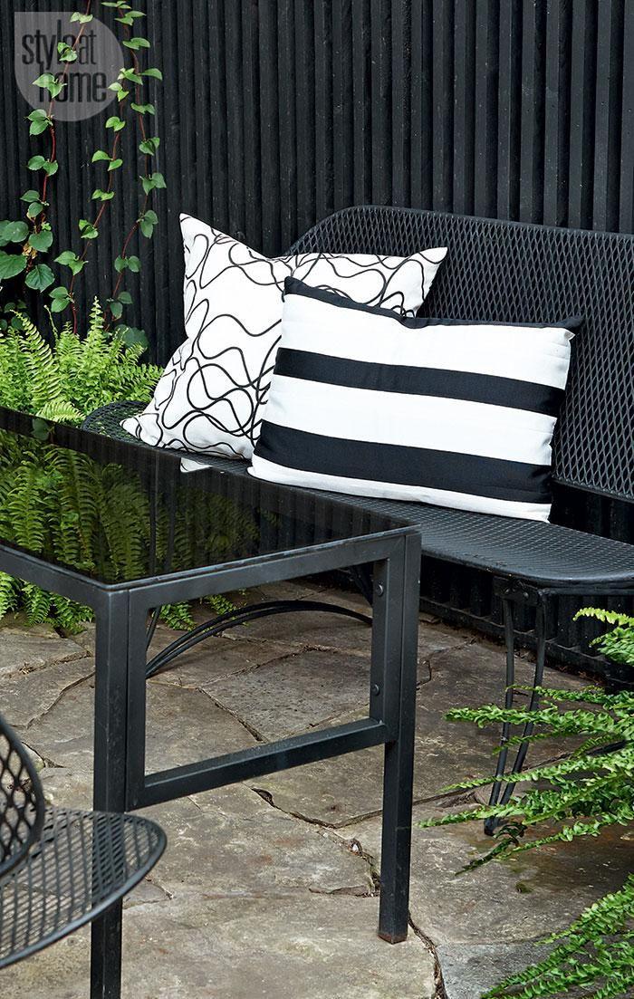 Kitchen U0026 Outdoor Dining Space Go Bold In Black U0026 White