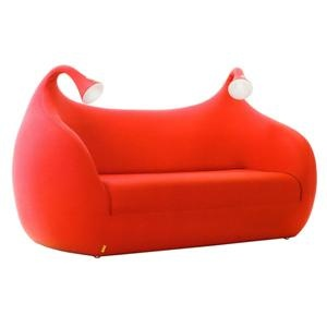 Morfeo Sofa Sleeper with built in lighting by Giannoni and Rodrigo Torres for Domodinamica