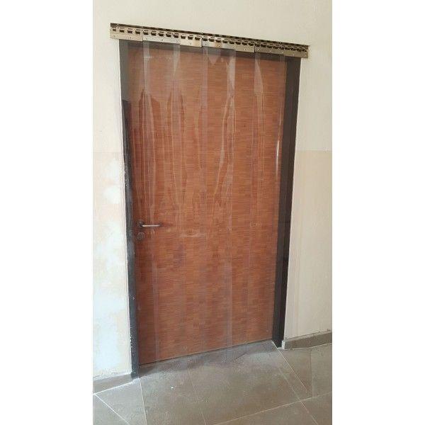diy pvc strip door curtain package