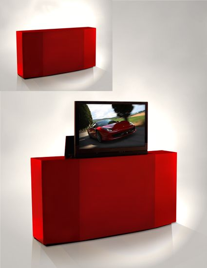 tv lift cabinet by ruth livingston on
