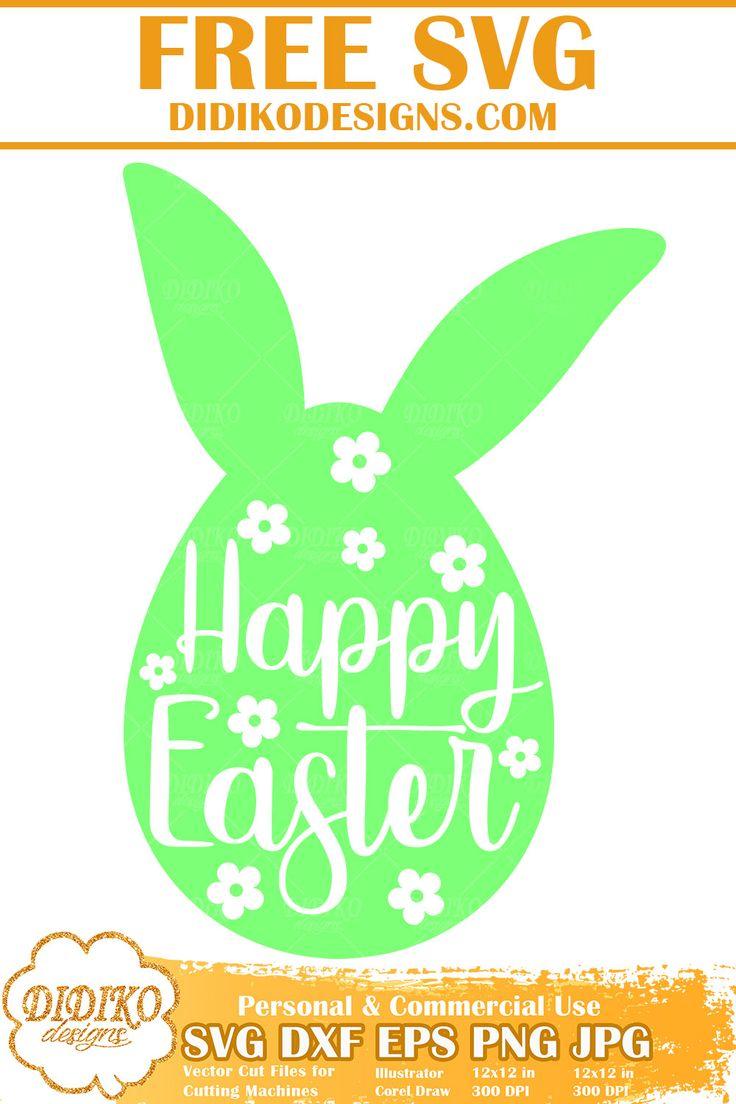 Download Happy Easter Free SVG, Easter Free SVG, Easter Egg Free ...