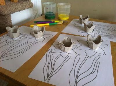 3D daffodil Drawing