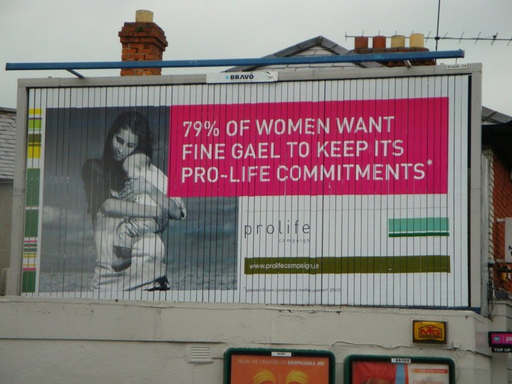 Pro Life Campaign recently launched a bill board campaign highlighting the recent opinion poll results which show that 79% of Irish women want the government to keep their promise and keep abortion out of Ireland