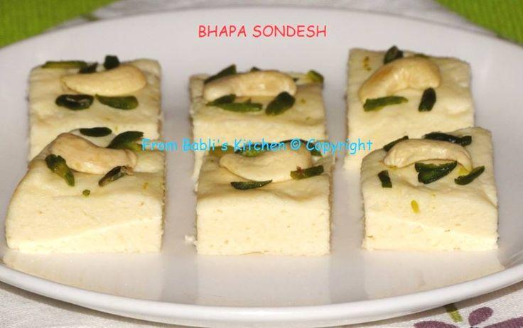 http://babliskitchen.blogspot.in/2014/08/sugar-free-bhapa-sondesh-sugar-free.html?view=mosaic