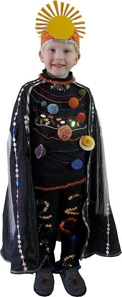 Space boy. Solar system costume. | (Theme) Planets/Solar ...