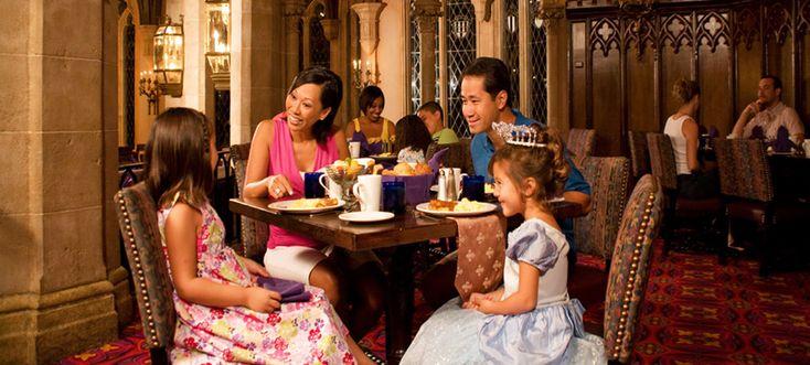 Having Alesa enjoy breakfast with the Disney Princesses at Magic Kingdom... would be nice.