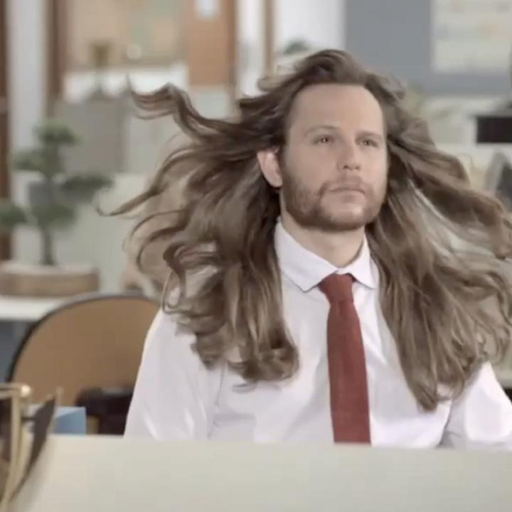 A new Dove commercial in Brazil humorously shows the effects of a man using womens shampoo.