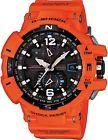 Casio G-Shock Men's GWA1100R-4ACR Gravitymaster Atomic Tough Solar Orange Watch