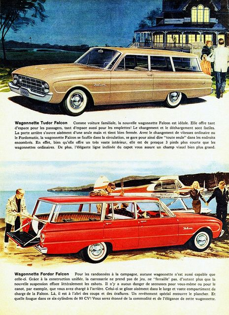 1960 Ford Falcon Station Wagons (Canadian Ad, Pg. 2) | Flickr