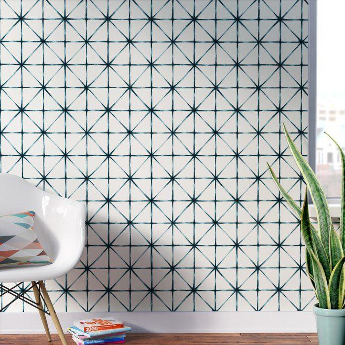 Folden Modern 16 5 L X 20 5 W Geometric Peel And Stick Wallpaper Roll Wallpaper Roll Peel And Stick Wallpaper Wallpaper Panels