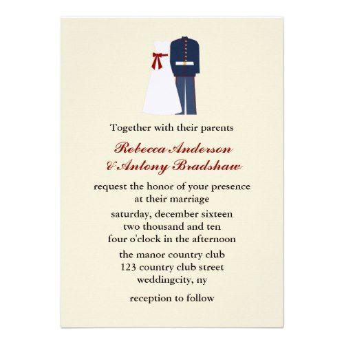 Marine Wedding Invitations: 248 Best Images About USMC Wedding On Pinterest