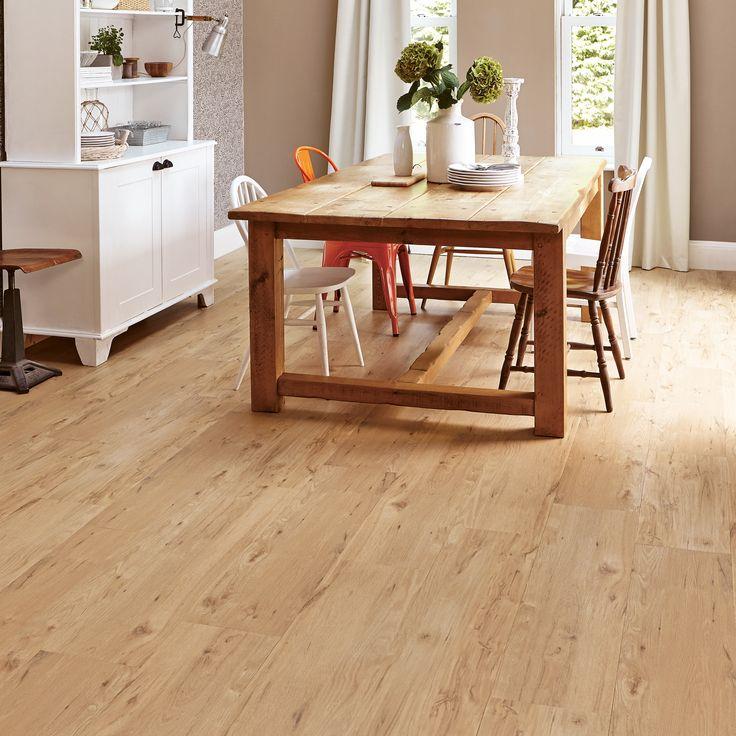 Karndean flooring for basement floors. Put right over concrete