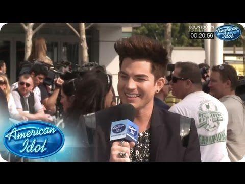 Adam Lambert at the Finale Pre-Show - AMERICAN IDOL SEASON 12