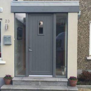 Image result for grey composite door