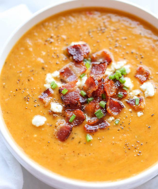 Préparez-vous la meilleure soupe de l'automne avec un petit extra bacon!