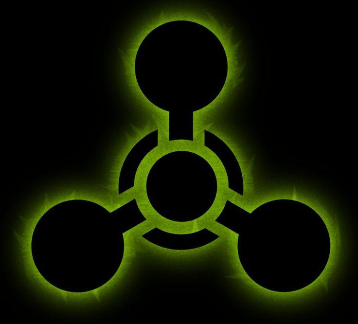 Biohazard Symbol Outline 11970 Movieweb