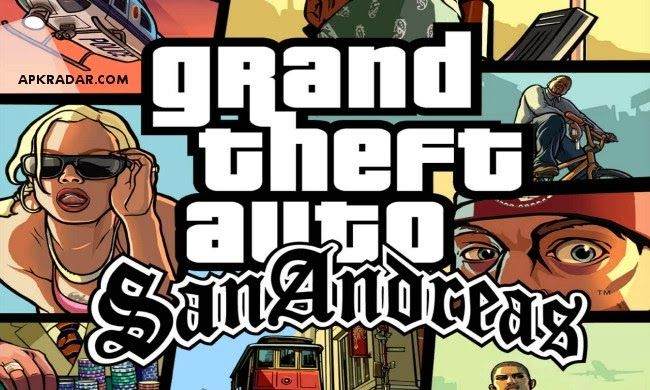 GTA San Andreas 1.05 Full Apk ve SD Data | mobil indir