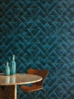 Nonwoven wallpaper MIS EN PLIS - Elitis: Nonwoven wallpaper