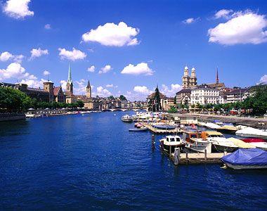 Zurich. So pretty but SO expensive!