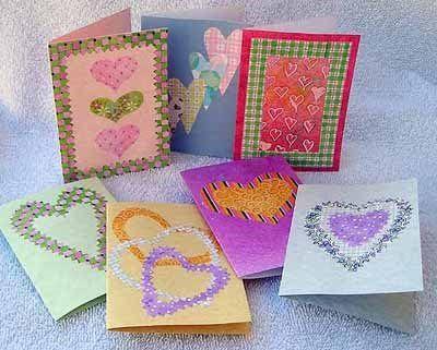 homemade+valentine+cards   Easy Homemade Valentine Cards