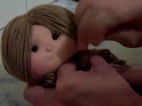 Passo a passo boneca de pano parte 3 tutorial boneca de pano Minha página no face: https://www.facebook.com/atelietitiscosta/?ref=hl