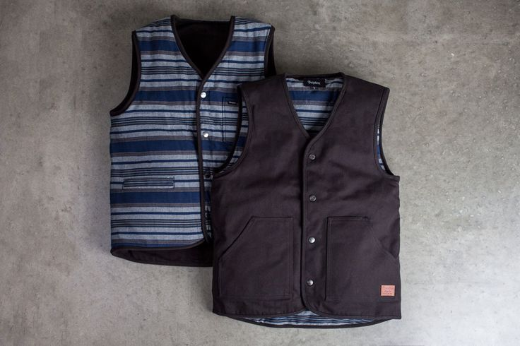 #Brixton 'Anchor' Reversible #Vest