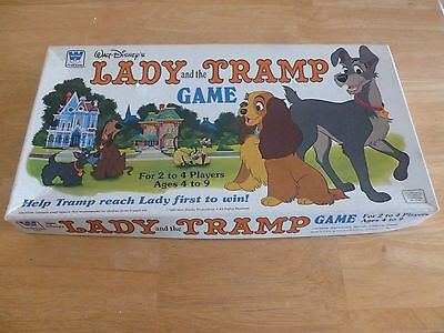 VINTAGE Lady & The Tramp Vintage Board Game COMPLETE RARE