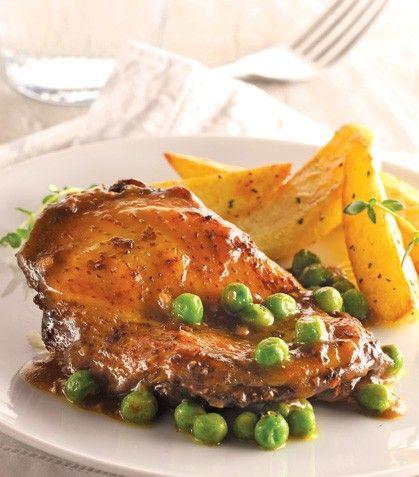 Prepara el pollo con esta receta única y deliciosa.