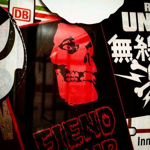 Rare Misfits Fiend Club sticker from my sticker archive.  #misfits #punk #danzig #punkrock #themisfits #metal #horrorpunk #samhain #fiendclub #doyle #horror #music #jerryonly #glenndanzig #fiend #skull #crimsonghost #psychobilly #weare138 #rockabilly #sticker #streetart #stickers #stickerart #slaps