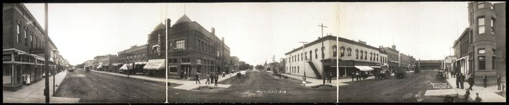 North Platte, Nebraska (c. 1909) | panned by haw-creek.com