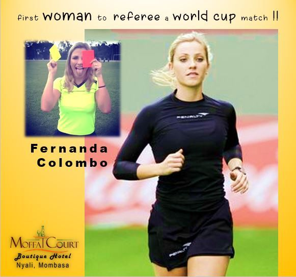 Born On 24 April 1991 In Santa Catarina In Brazil Fernanda Colombo Began Working As An Assistant Referee In 2010 And Was Recog World Cup Match Fifa 4 Referee